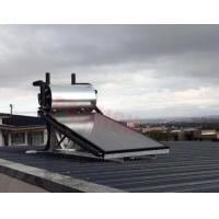 Aluminium Alloy Flat Plate Solar Collector , Home Solar Water Heating System Manufactures