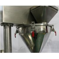 China Semi-automatic detergent powder packing machine auger filler machine on sale