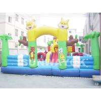Tom And Jerry Inflatable Fun City , cartoon commercial inflatable fun world Manufactures