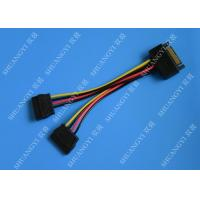 SATA To Dual SATA Data Cable Splitter SSD HDD SATA Cable For Hard Drive Manufactures