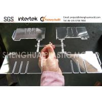 High Gloss Clear Plastic Component PS Divider for Display Product Manufactures