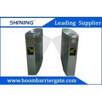 Pedestrian Access Flap Barrier Gate With Time Attendance Management Applications Manufactures