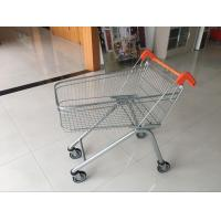 Zinc Plated clear coating Steel UK Shopping Cart 100L / Low Carbon Manufactures