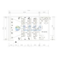 Customized 4D cinema theater design drawing picture , small home theater design plans Manufactures