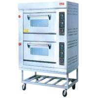 Gas 220V Electric Baking Ovens RQL-24BQ With Two Layer For Commercial Kitchen Manufactures