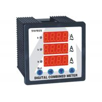 Programmable Single Phase Digital DC Ammeter Combination Reading For 3 Current Manufactures