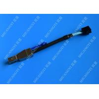 0.3 M Black Serial Attached SCSI Cable External HD Mini SAS SFF-8643 To SFF-8644 Cable Manufactures