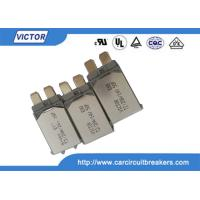 VDE Bimetal Fuse N.C Thermal Fuse Color Code , Single Pole Thermal Type Breakers Manufactures