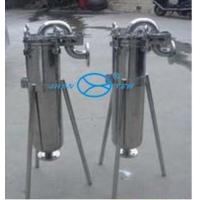 China Petrochemical  Top in Single Bag Filter Housing Surface Polished on sale