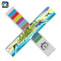 3d Or Flip Change Custom Printed Plastic Rulers For Kid Stationery Manufactures