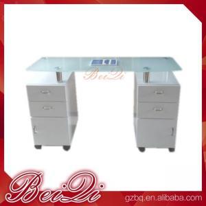 Quality Reception Desk Beauty Salon Counter Reception Vintage Front Desk Reception Counter Leather for sale