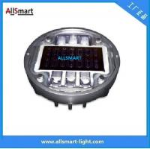 Solar Road Stud ASD-013 CE IP68 Alluminum Road Solar Road Marker Solar Sarning Lights Manufactures