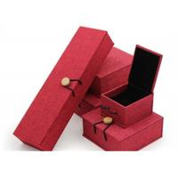 Luxury Necklace Paper Jewelry Box Offset Printing Durable For Presentation Gift Manufactures
