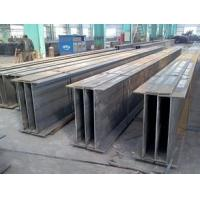Multi – Layers Building Steel H Beam ISO 9001 Low Carbon Black Manufactures