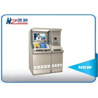 Quality Interactivefreestand bill payment kiosk with cash acceptor for sale