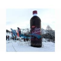 Floating Bottle Display Promotional Giant Inflatable Beverage For Outdoor Activity Manufactures