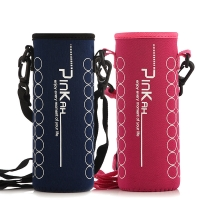 Lanyard Neoprene Water Bottle Sleeve For Outdoor Sports Manufactures