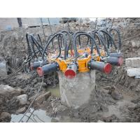 Construction Machinery Hydraulic Pile Breaker For Crushing Different Diameter Piles Manufactures