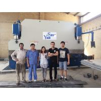 400 Ton Plate Pipe Hydraulic Press Brake Bending Machine With 3.2m/4m/5m/6m Manufactures