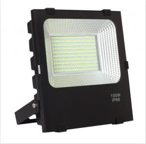 Electrophoretic 100W Outdoor LED Flood Fixtures 13000lm Manufactures