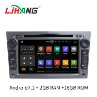 7 Inch Touch Screen Opel Car Radio DVD Player Bluetooth Supported For Zafira Antara Manufactures
