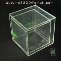 BO (49) clear acrylic case with dividers Manufactures