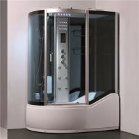 High Tray Steam Bath Shower Enclosures With Whirlpool Tub TV And Foot Massager Manufactures
