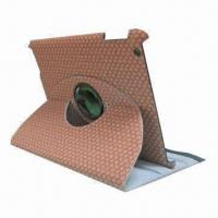 Hot Sell 360 Degrees Rotation PU Case for iPad 2/3 Manufactures