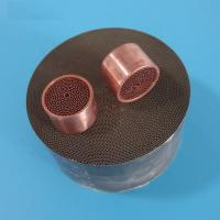 Euro4 auto honeycomb ceramic catalyst DPF cleaning with metal cover Manufactures