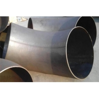 Industrial Steel Pipe Fittings Stainless steel hot push elbow Manufactures