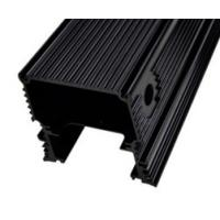 Black Anodized Aluminum Extrusions For Electronics / Electrical Cover / Electronic Enclosure Manufactures