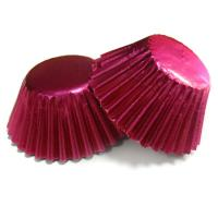 Quality Personalized Red Decorative Cupcake Wrappers for Weddings Cake Cup  decorations for sale