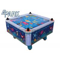 2 Players Video Arcade Game Machines , Children Coin Operated Air Hockey Table Manufactures