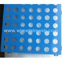 2mm thickness galvanized perforated metal sheet/punching hole metal sheet Manufactures