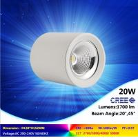 high quality ceiling lamp 10W to 45W 2700-6500K CREE COB led downlight super bright light Manufactures