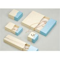 Custom Made Jewelry Boxes Case , Fancy Recycled Small Cardboard Gift Boxes Manufactures