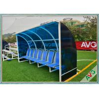 Weather Resistant Soccer Field Equipment Mobility Aluminum Soccer Coach Seat Manufactures