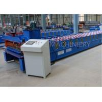 Quality Metal Roofing Sheet Bending Machine , Automatic Roof Panel Roll Forming Machine for sale
