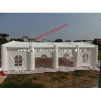 Quality Commercial Inflatable Wedding Tent / Inflatable Family Tent With Windows for sale