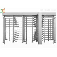 Single Side Automatic Full Height Turnstiles High Security Rust-proof Barrier Manufactures
