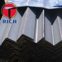 Buy cheap Q235 SS400 Carbon Structural Steel Angle Sizes 2.5-20mm Equal Type from wholesalers
