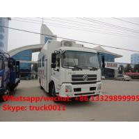 Quality factory sale best price dongfeng tianjin mobile blood truck, China brand blood for sale