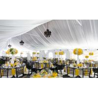 Clear Span For 500 people Hiqh Quality Large outdoor Wedding Party Tent Glass Door For Sale with Factory Price Manufactures