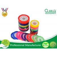 Custom Colorful Sticky BOPP Stationery Tape Water based For Office Sealing Manufactures