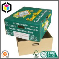 Flexo Full Color Print Corrugated Cardboard Fruit Banana Packaging Box Manufactures