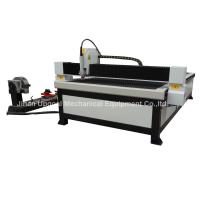 Steel Tube Steel Plate CNC Plasma Cutting Machine with Rotary Axis 125A Manufactures