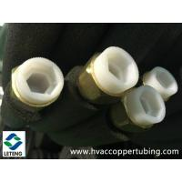 China Air Conditioner Connecting Insulation Copper Pipe with Forged Flared Nut on sale
