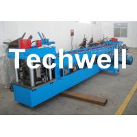 U Channel Roll Forming Machine for Making U Purlin Profile with Pre-cutting & Pre-punching Manufactures
