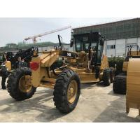 Quality Yellow & Black Caterpillar 140k Used Motor Grader 190hp With Catc7 Engine Model for sale