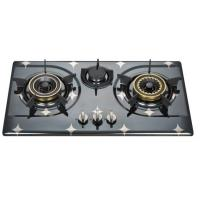 Buy cheap Auto Ignition Three Burner LPG Gas Hob , 3 Burner Gas Stove In Stainless Steel from wholesalers
